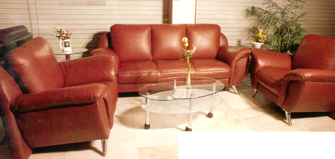 5 Seater Rexin Sofa Set